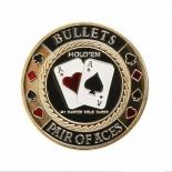 аксессуар для покера Карт-протектор Card Guard Bullets