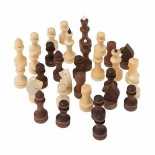 шахматы Шахматные фигуры Орловская ладья обиходные парафинированные