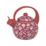 чайник для плиты Zeidan  Z-4153-02, красный