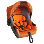 Автокресло детское Siger Эгида Люкс, оранжевое, купить за 3 228руб.