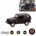 игрушки для мальчиков Пламенный мотор Jeep Wrangler (870299) Машина, черная матовая