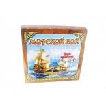 стратегическая игра Задира Морской Бой, от 7 лет
