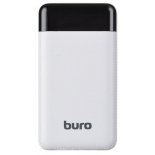 аккумулятор универсальный Buro RC-16000-WT 16000mAh, белый