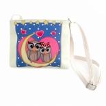 сумка Наша Игрушка Совята романтичные (635792) 20х16см