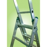 лестница монтажная Высота  VL (3х10) алюминий
