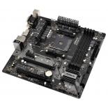 Материнская плата ASRock B450M Pro4 Soc-AM4, AMD, mATX, DDR4, SATA3, USB 3.1, GigaLAN, купить за 4 920руб.