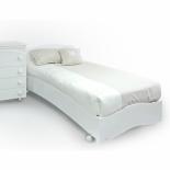 кровать Fiorellino Pompy (190х90 см) белая