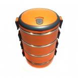 термос Ланч-бокс 2,8 л (Оранжевый)