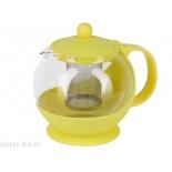 чайник заварочный Rosenberg  RPG-250077, желтый