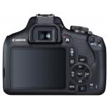 цифровой фотоаппарат Canon EOS 2000D KIT (18-55mm DC III), черный