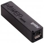 аккумулятор универсальный внешний Gmini GM-PB026-B, 2600mAh, черный