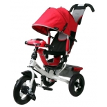 Трехколесный велосипед Moby Kids Comfort 12x10 AIR Car 2, красный