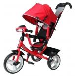 Трехколесный велосипед Moby Kids Comfort 12x10 EVA Car, красный