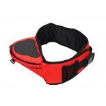 рюкзак туристический для переноски детей Mum's Era хипсит со спинкой, красный
