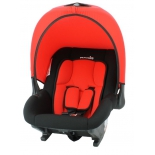 автокресло детское Nania Baby Ride ECO  от 0 до 13 кг (0/0+) красный/черный