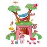 кукла Zapf Chou Chou Мини-лисичка Дерево-домик функциональный