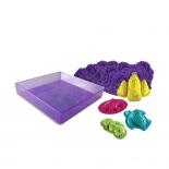 товар для детей Песок для лепки Spin Master Kinetic sand (1 яркий цвет) 4 формочки