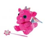 игрушка мягкая Zapf  Baby born, Дракон из Страны чудес, розовый