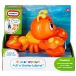 товар для детей Little Tikes развивающая игрушка Клацающий лобстер на веревочке