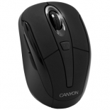 мышка Canyon CNR-MSOW06B Black USB (wireless optical)