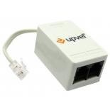 разветвитель сетевой ADSL-сплиттер Upvel US-AA (ADSL2/2+, Annex A)