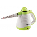 Пароочиститель-отпариватель Endever Odyssey Q-430, белый/зеленый