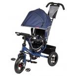 Трехколесный велосипед Moby Kids Comfort 12x10 AIR, синий
