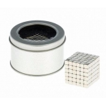 головоломка Антистресс магнит Neocube 216 кубиков 0,4х0,4х0,4 см (серебро)