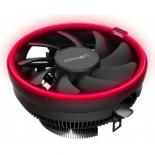 кулер компьютерный Crown CM-1150PWM красный