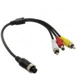 кабель (шнур) Orient AVIA TO 2XRCA-0.3 для камер видеонаблюдения