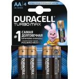 батарейка Duracell Turbo MAX LR6-4BL AA (4шт)