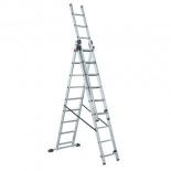 лестница монтажная Lwi (3х9) трёхсекционная
