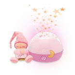 ночник для детской Ночник Chicco Первые грезы, розовый