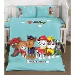 детское постельное белье DO&CO, сатин, пр.100х150 см, нав. 35х45*2, DOGGY