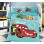 детское постельное белье DO&CO, сатин, пр.100х150 см, нав. 35х45*2, CAR