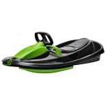 снегокат Gismo Riders Stratos, черно-зеленый