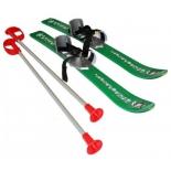 лыжи детские Gismo Riders Baby Ski, зеленые