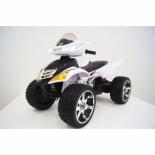 электромобиль Квадроцикл RiverToys Е005КХ-A, белый