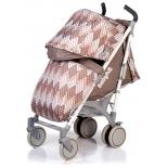 коляска Babyhit Rainbow Rhombus Beige (трость)