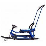 снегокат Барс 109 Wheel Animals Собака (с П-образным толкателем и колесной базой)