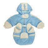 детская одежда Комбинезон-трансформер Золотой гусь Веснушка, голубой