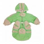 детская одежда Комбинезон-трансформер Золотой гусь Веснушка, зеленый