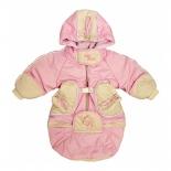 детская одежда Комбинезон-трансформер Золотой гусь Веснушка, розовый