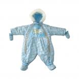 детская одежда Комбинезон-трансформер Золотой гусь Снежок, голубой