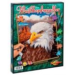 картина по номерам раскраска Schipper Белоголовый орлан 30х24 см