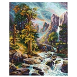 картина по номерам Раскраска Schipper Высокогорье 40х50 см