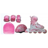 роликовые коньки защита, шлем Action PW-999 р.30-33