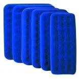матрац надувной Bestway 67001 синяя