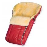 конверт для новорожденного Esspero Nicolas Leatherette Red, красный