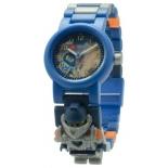 часы наручные LEGO Nexo Knights Клай (с минифигуркой)